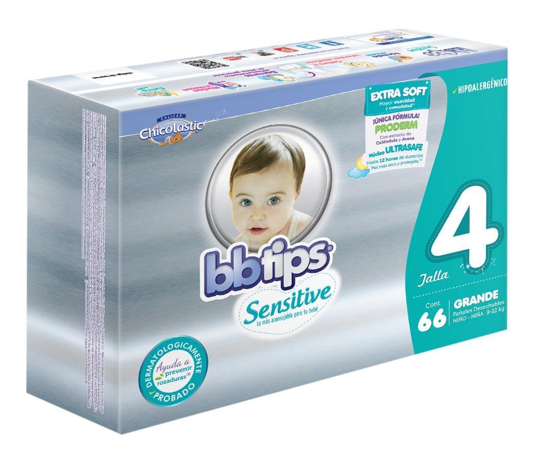 Oferta del Hot Sale en Amazon: BBtips Sensitive, Unisex, Talla Grande, 132 Pañales