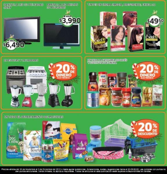 Soriana: 20% de descuento en juguetes y pinos naturales, 20% en monedero en estufas y +