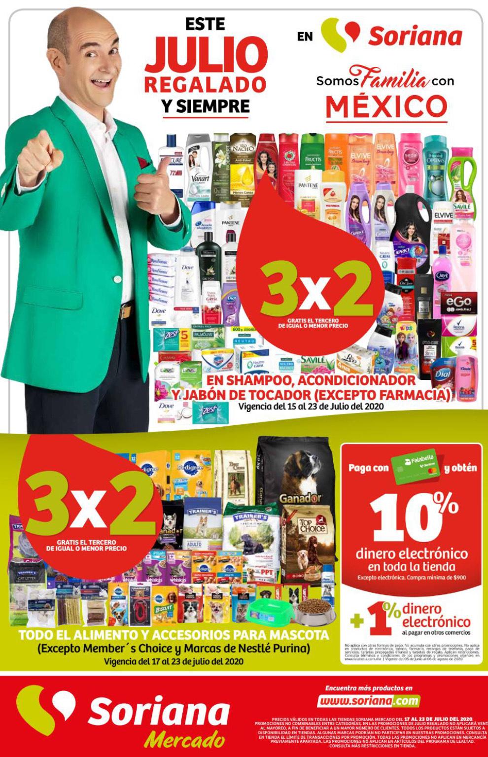 Julio Regalado 2020 en Soriana: 7mo Folleto de Soriana Mercado y Express