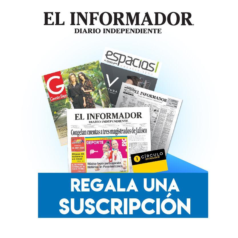 Suscripción Gratuita al Periódico El Informador.