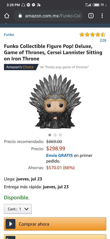 Amazon Funko pop Cersei Lannister
