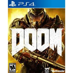 Ofertas Hot Sale Palacio de Hierro: Doom Xbox One y Ps4 a $874.30