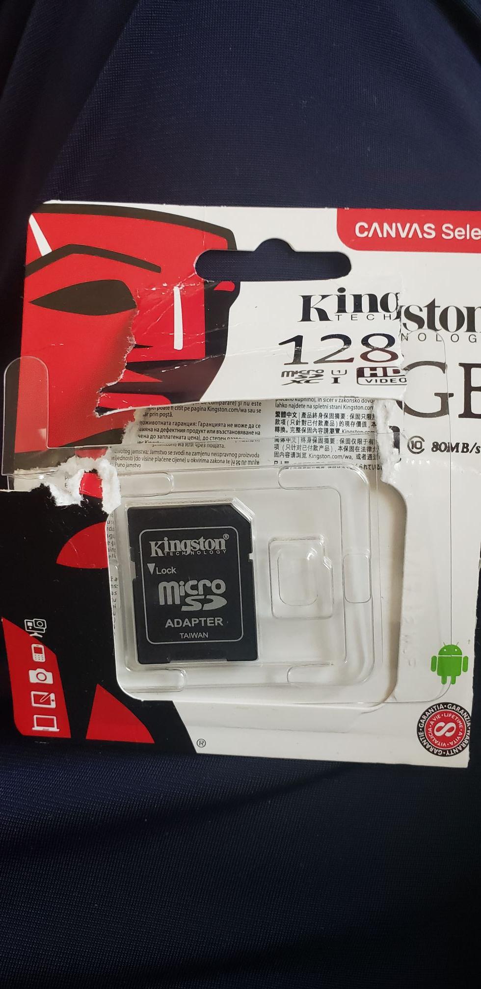 Sam's Club: Memoria micro SD 128 GB