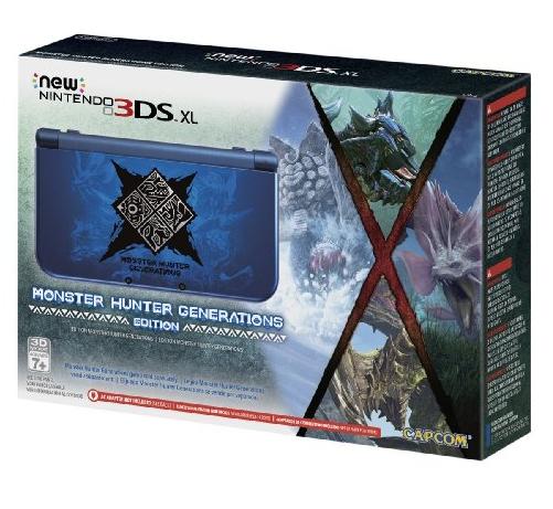 Amazon: preventa New 3DS Monster Hunter X