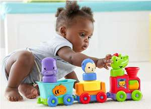 Amazon: Fisher Price Silly Safari Tren Animales Divertidos Y otro