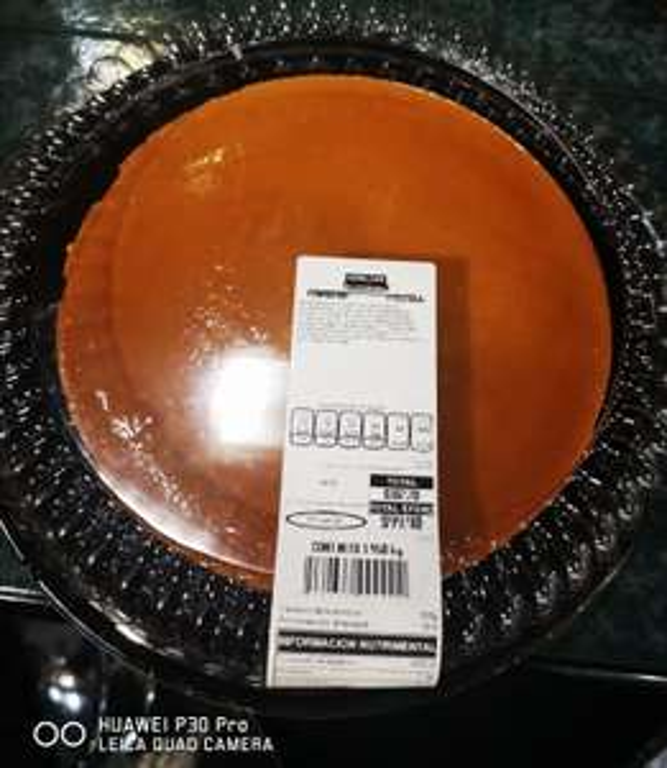 Costco pastel imposible 2kg
