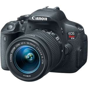 Hot Sale Amazon MX: Cámara Canon EOS Rebel T5i con lente STM 18-55 mm. Pagando TC Banamex $8,649.50