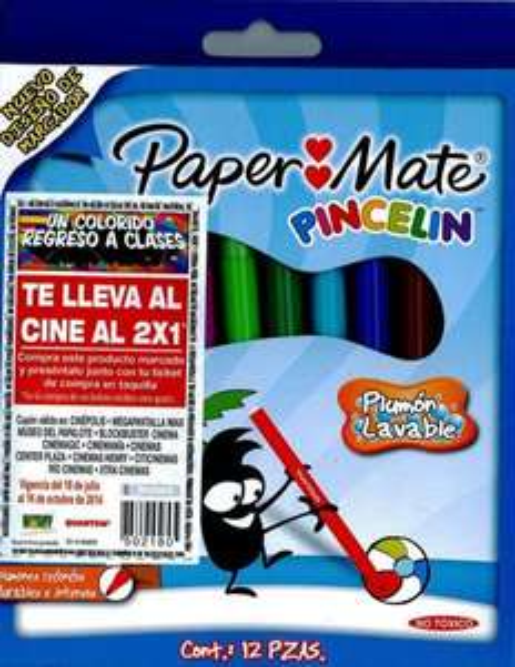 2x1 para Cinépolis y más cines comprando artículos Paper Mate