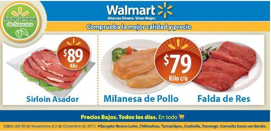 Fin de semana de frescura Walmart Noviembre 30 y 18 MSI en deptos participantes