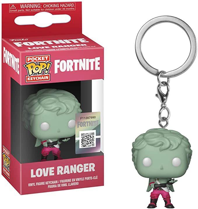 Amazon: Funko Pop Keychain Fortnite Love Ranger