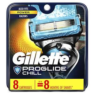 Amazon: Gillette Fusion5 ProShield, 8 pack