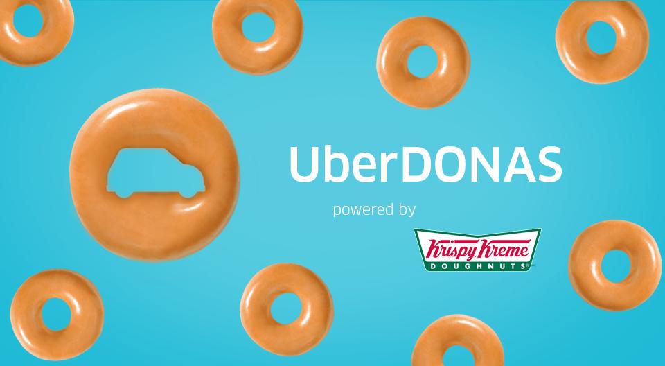 UBER: Media docena de Krispy Kreme. (2 Junio) $30.00