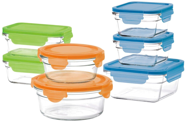 Hot Sale en Amazon: set 14 piezas Glasslock Oven Safe