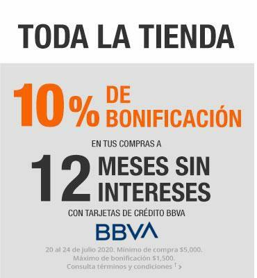 The Home Depot: 10% de bonificación en compras a 12 MSI BBVA.