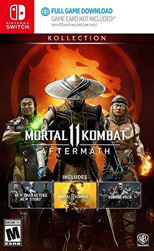Amazon: Juego Mortal kombat 11 Aftermath/kombat pack dlc incluidos nintendo switch