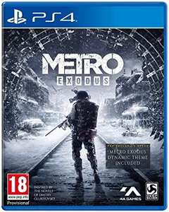 Amazon: Metro Exodus para PS4 y Xbox One