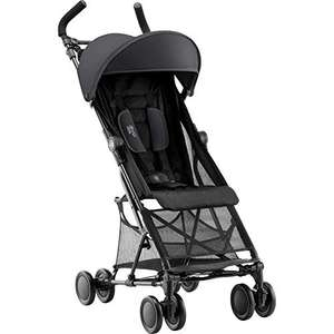 Amazon: Britax Holiday² Silla de paseo (6 meses a 3 años, hasta 15 kg), color Negro