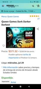 Amazon: Juego de mesa zombies Dark darker darkest