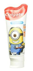 Amazon Colgate Gel Dental Smiles Minions para Niños, Sabor Bubble Fruit, 75 ml