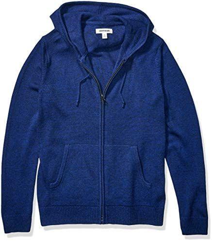 Amazon: Suéter azul goodthreads talla XCH y XL