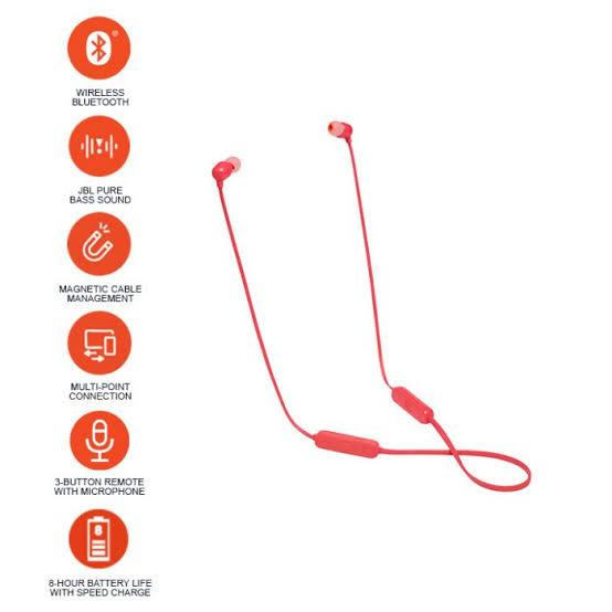 Amazon: Audífonos JBL T-115BT (Bluetooth)