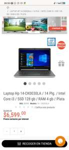 RadioShack: Laptop HP Intel Core i3 SSD 128GB
