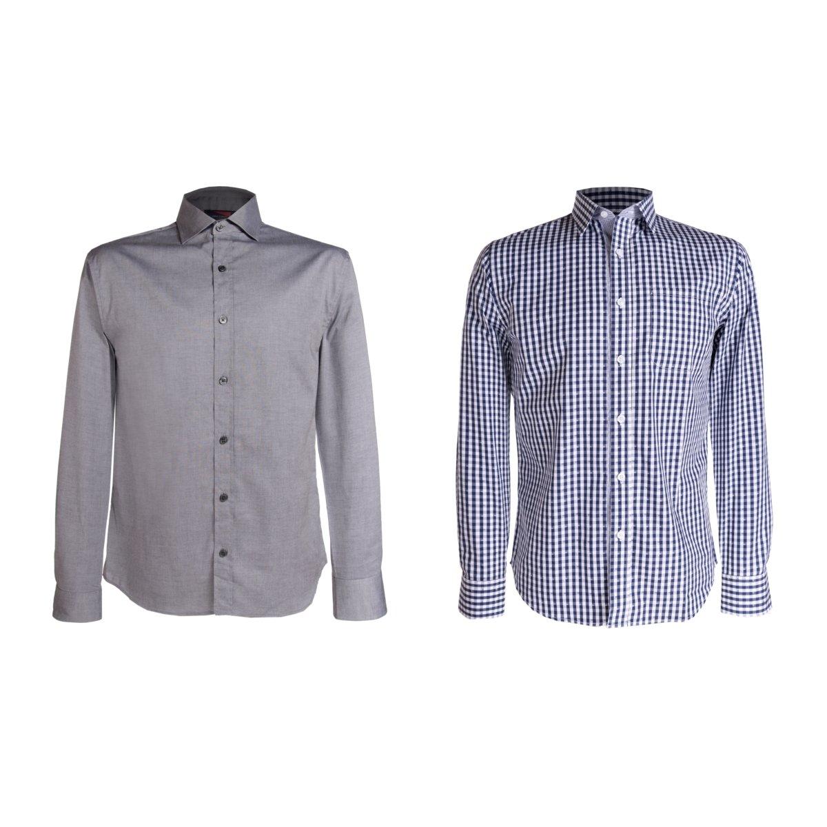 Sears en Línea: Camisa Casual Carlo Corinto Sport, 2Pack Tallas: chica, mediana grande y extra grande
