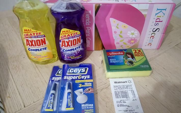 Walmart Cd Juárez: Adhesivos a $3.01, detergente Axión a $16.03 y más...