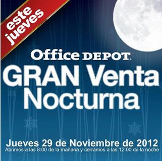 Venta Nocturna Office Depot noviembre 29: gratis frigobar con compra mínima (actualizado)