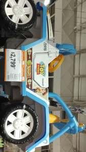 Chedraui: Jeep toy story