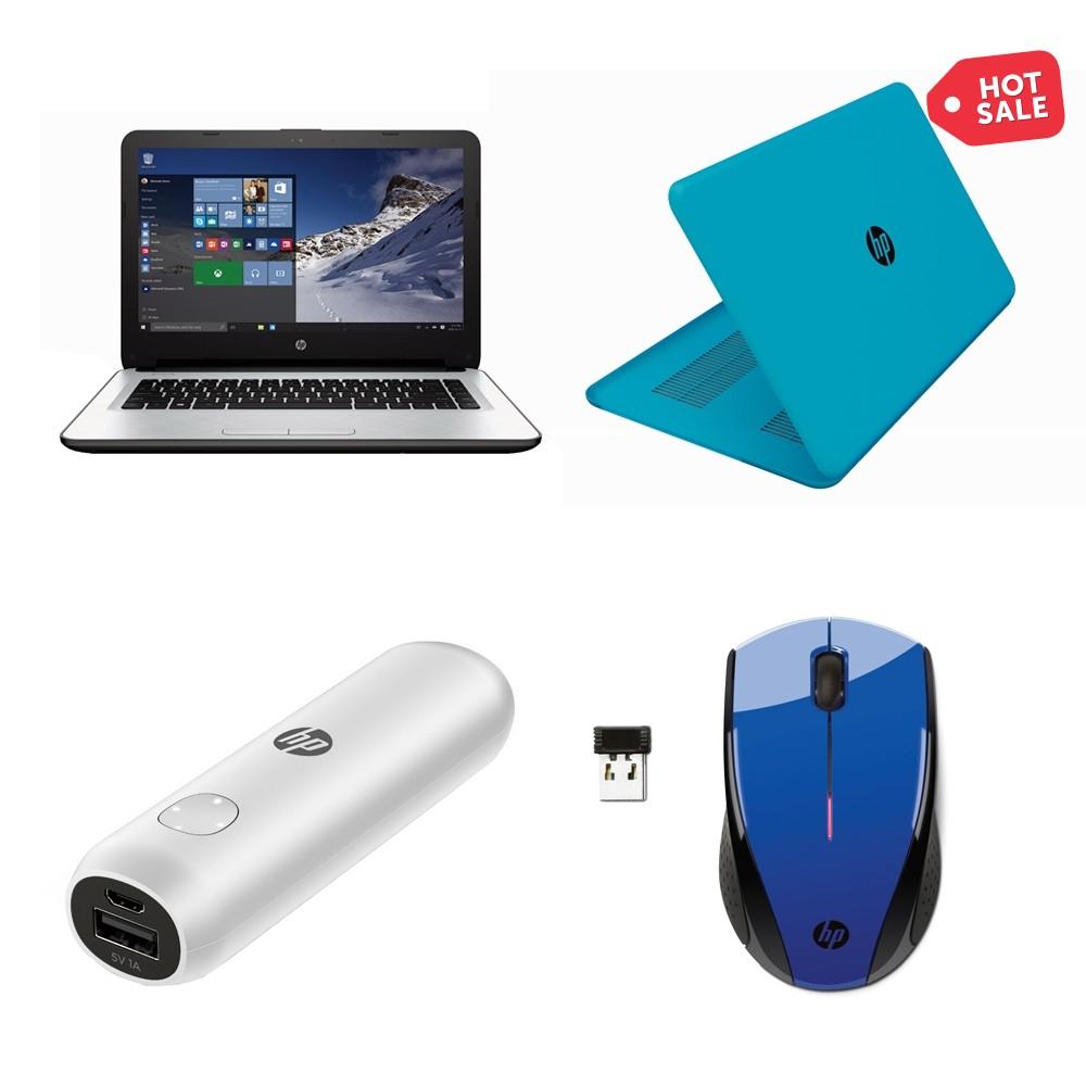 Hot Sale en Walmart: Laptop HP AMD A8 6 GB RAM 1TB con power bank, mouse y cubierta a $6,999