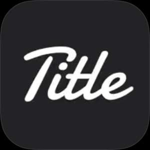 Apple App Store: Title - Add Text On Photo