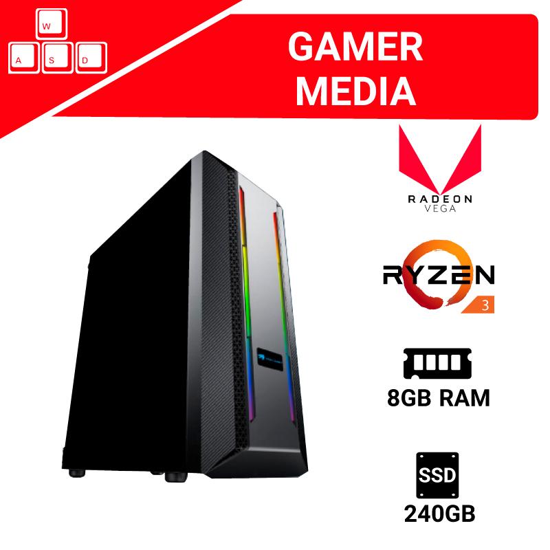 DigitaLife - PC GAMER MEDIA Ryzen 3200G + 8gb Ram + SSD 240GB