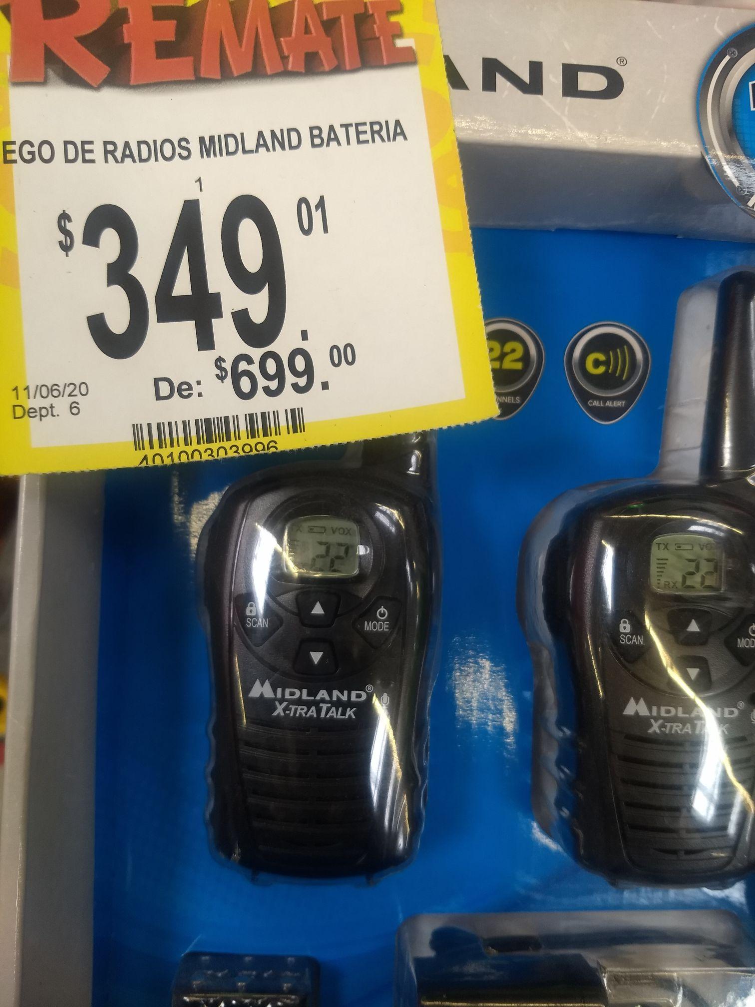 Radios de comunicación 18millas Bodega Aurrera