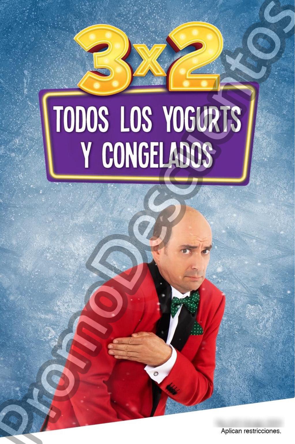 Julio Regalado 2020 en Soriana: 3x2 en TODOS los Congelados y Yoghurts