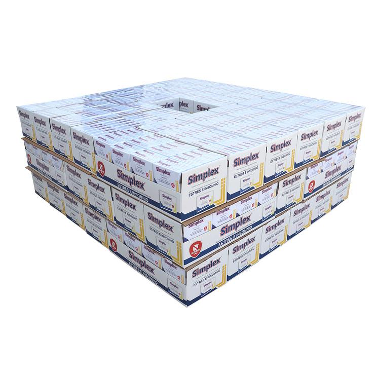 Costco: Simplex 1008 Unidades (Media Pallet)