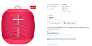 Game Planet: BOCINA ULTIMATE EARS WONDERBOOM RASPBERRY