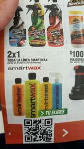 Autozone: 2X1 los productos Smart Wax