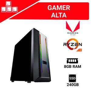DigitaLife - PC GAMER MEDIA Ryzen 3400g + 8gb RAM (2x4gb) + SSD 240 GB