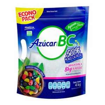 Sam's Club: Azúcar Metco BC Baja en Calorías 4 kg