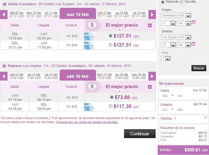 Volaris: viajes nacionales desde $999 y a Estados Unidos desde $129 dolares