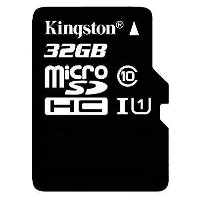Amazon: Memoria MicroSD Kingston 32Gb Class 10 UHS-I 45MB/s con adaptador SD (SDC10G2/32GB)