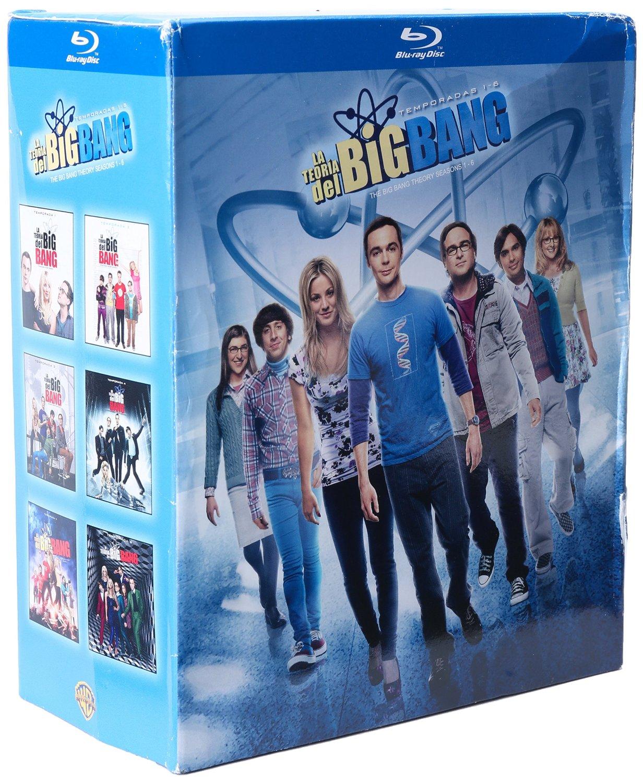 Amazon: La Teoría del Big Bang Temporadas 1-6 Blu-ray a $649