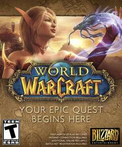 Amazon USA: World of Warcraft - PC/Mac [Digital Code] $5 USD