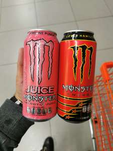 Chedraui: Monster Energy Lewis Hamilton y Pipeline Punch