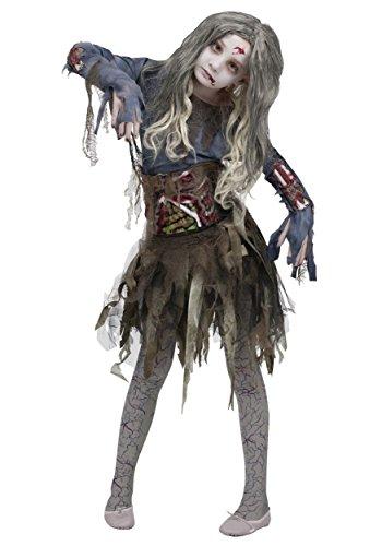 Amazon Disfraz Zombie para Niña