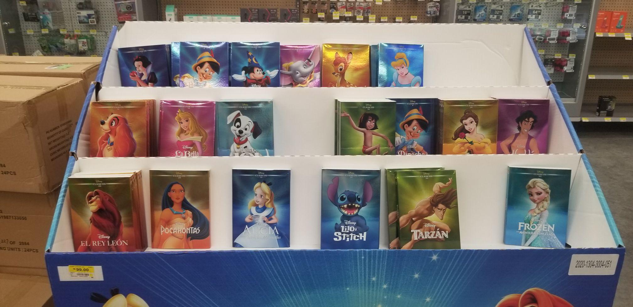 Walmart: DVD clásicos de Disney