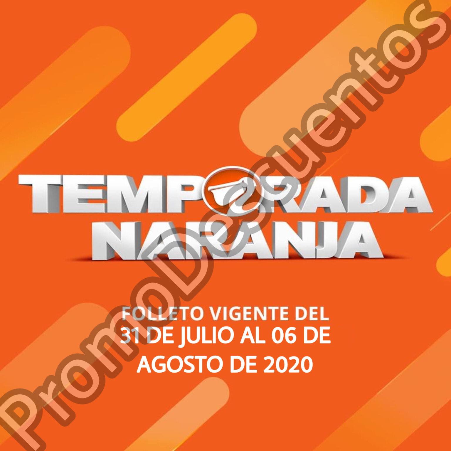 Temporada Naranja 2020 en La Comer: 8vo y Último Folleto de Ofertas