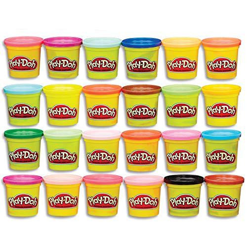 Amazon - Play-Doh paquete de 24 latas