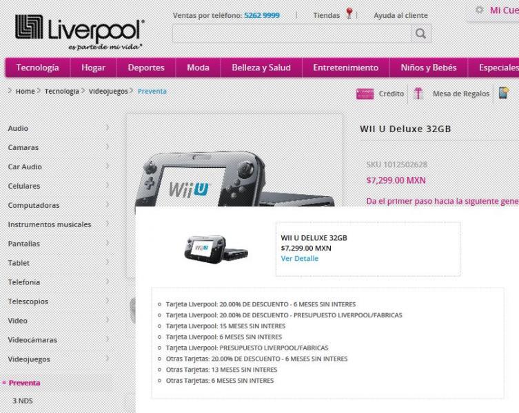 Cyber Monday en Liverpool: 30% de descuento en TVs, 20% en iPads, videojuegos incluyendo Wii-U y +